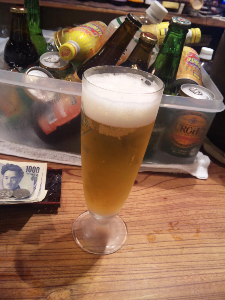 夏はビール!