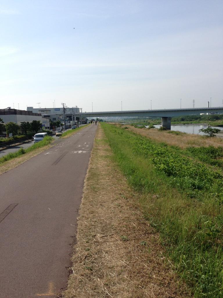 多摩川のコース