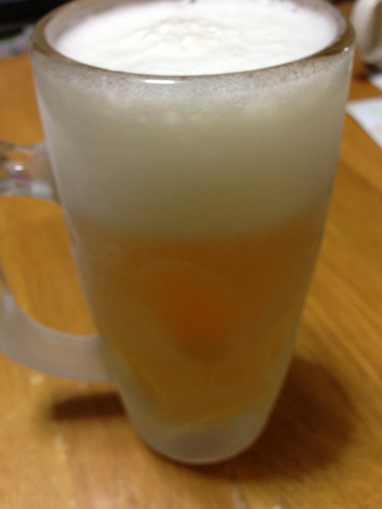 ホッと一ビール